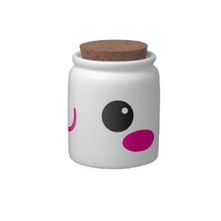 Super Cute anime Kawaii cutie face! NP candy jars by JazzyDesigner