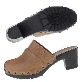 ESPRIT Schuhe Amin Clogs Mule Pantolette MakeupBeige Gr. 36