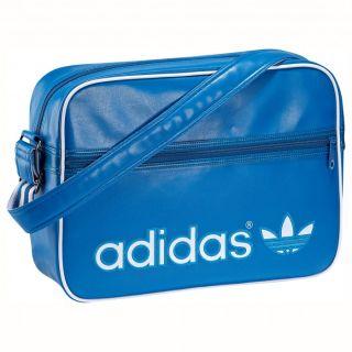 adidas AC Airline Bag Tasche Umhaengetasche Blue Bird Dark Royal Blau