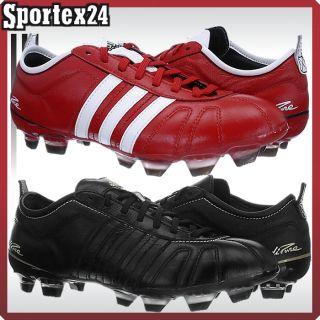 Adidas ADIPURE IV TRX FG schwarz od. rot Leder Fußballschuhe 36 47