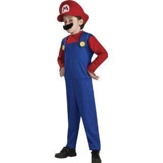 Original Lizenz Mariokostüm Kostüm Super Mario Brothers Bros. Rot