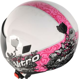 NITRO NGJP ROMANCE LADIES OPEN FACE DEMI MOTORCYCLE WOMENS SCOOTER