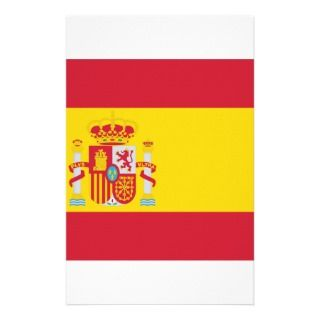 Spain / Spanish Flag Stationery Design