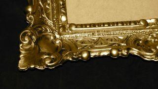 Bilderrahmen barock Antik Gold 56x46 Fotorahmen Jugendstil Rechteckig