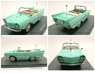 Amphicar türkis, Modellauto 143 / Neo Scale Models
