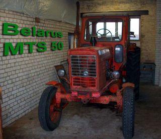 BELARUS MTS 50 80PS Motor TÜV 06/2012 einsatzbereit