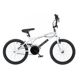 Zombie BMX Fahrrad Mad Dog, weiß, Rahmenhöhe 11 Zoll, Reifengröße