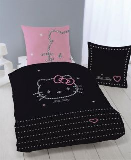 hello kitty elegant sparkling diamond style watch and. Black Bedroom Furniture Sets. Home Design Ideas