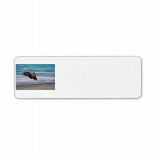 Golden Eagle Coming in For a Landing Custom Return Address Labels
