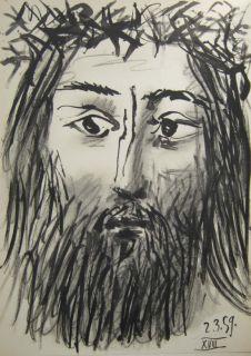 Pablo Picasso Toros y Toreros 2.3.59 XVIII