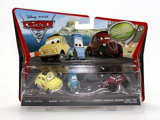Luigi Guido und Onkel Topolino  Die Cast 155  Disney Cars 2  V2837