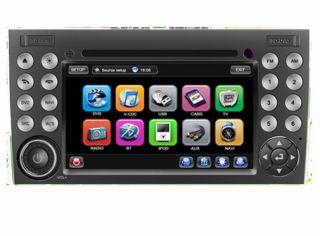 Mercedes Benz SLK W171 200 280 350 55 Autoradio Navigation GPS TMC DVD