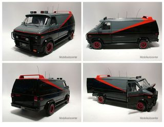 Chevrolet Van 1983, A Team Van, TV Serie, Modellauto 118 / Hot Wheels
