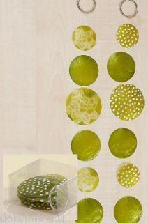 Capiz,Muschel,Girlande,Windspiel,grün perlmutt,