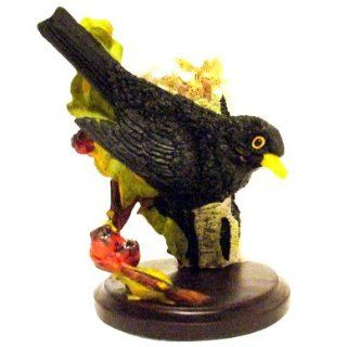 Country Bird Collection Andy Pearce: Miniatur Vogel AMSEL