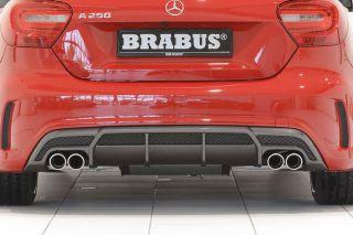 Mercedes A Klasse W176 Brabus Heckschürzeneinsatz Diffusor AMG A180