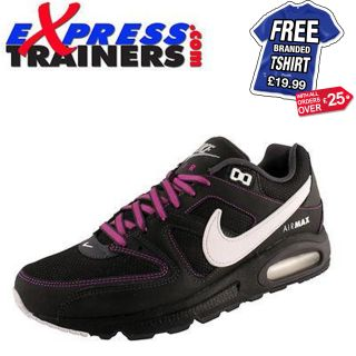 Nike Mens Air Max Command Leather & Textile Trainer/Running Shoe
