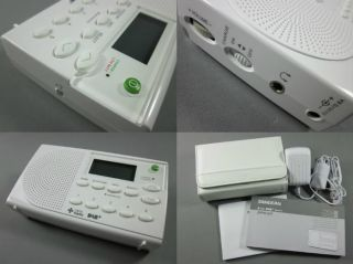 SANGEAN DPR 65 White FM RDS DAB+ Digital Radio Receiver