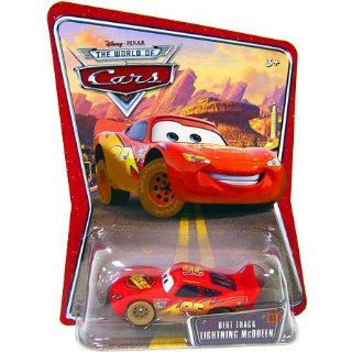 Disney Pixar   CARS   THE WORLD OF CARS   Die Cast   DIRT TRACK