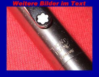 alter eleganter Mont Blanc Schreiber Roller Pen