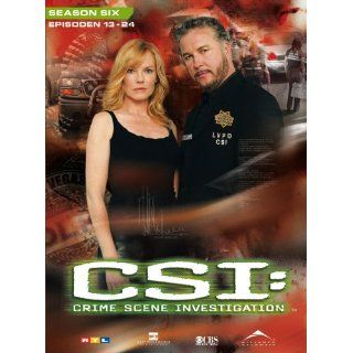 CSI Crime Scene Investigation   Season 6.2 3 DVD Digipack