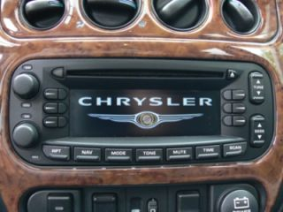 Navi Chrysler Becker RB3 # Voyager # Jeep # PT Cruiser