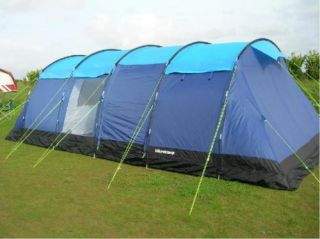 Ultracamp Lincoln Large 10 Berth/Man/Person/Family Camping Tent