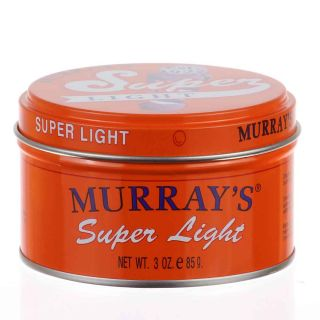 Super Light Hair Pomade, Haarwachs, Murrays    4,69 (100g)