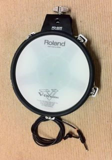 Roland PD 80R Electronic Dual Zone Mesh V Drum Trigger Pad pd80r