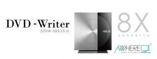 Asus SDRW 08D3S U Zen Drive externer Slim DVD Brenner