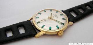 Bifora Stratos 17 Rubis Handaufzug Uhr vintage men gents wristwatch