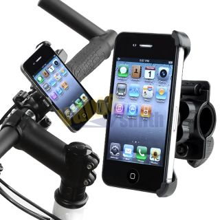 Black Bicycle Bike Mount Handlebar Holder Holder for Apple iPhone 4 4G