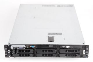 PowerEdge 2950 I 2x Xeon 5060 Dual Core 3 2 GHz 8 GB RAM 73 GB 15k SAS
