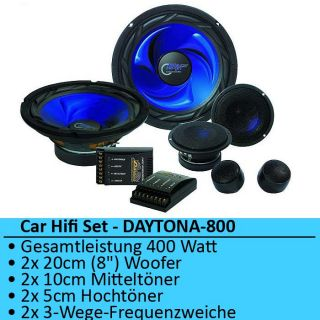 CAR HIFI AUTO LAUTSPRECHERSET SYSTEM AUTOLAUTSPRECHER BOXEN SPEAKER