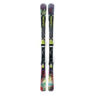 Nordica Allround Carver Fire Arrow 74 EDT Ski Set mit Bindung Laenge