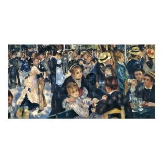 Bal Du Moulin De La Galette By Pierre Auguste Reno Personalized Photo