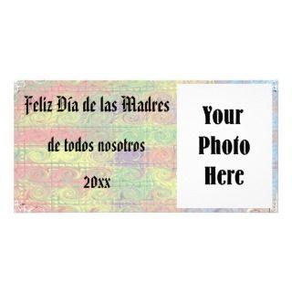 Feliz Dia de las Madres foto de la tarjeta Personalized Photo Card