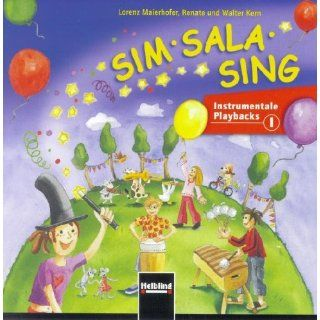 Sim Sala Sing. AudioCD Instrumentale Playbacks. CD 1