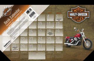 Harley Davidson   2013 Desk Pad Calendar Calendars