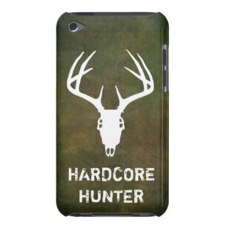 Deer hunting skull with antlers Case Mate iPod touch case