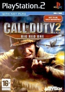 PS2 Spiel   CALL OF DUTY 2 BIG RED ONE (mit OVP) USK18   für Sony