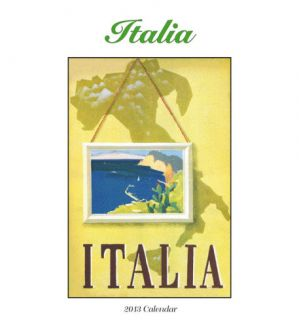 Italia   2013 Easel/Desk Calendar Calendars