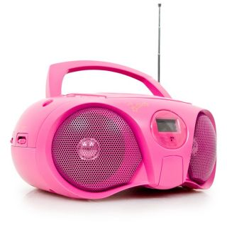 Boombox Stereo portable Radio FM CD Player Ghettoblaster BigBen CD45