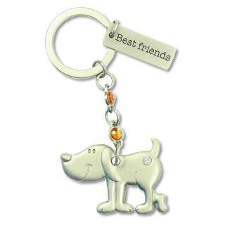 Schlüsselanhänger Hund Musikbox Best friends