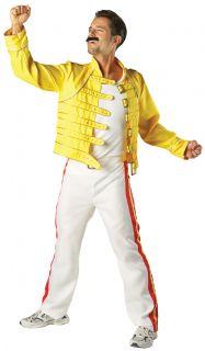 Herren Kostüm Queen Freddy Mercury Wembley 86 Konzert Anzug Outfit