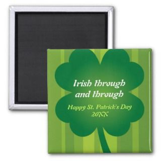 Giant Clover St Patricks Day Party Invitation