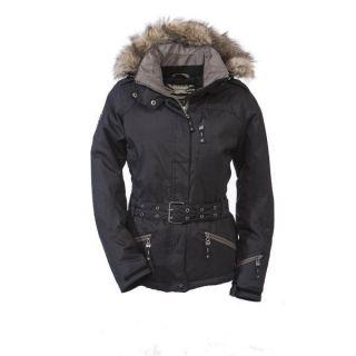 Killtec Damen Skijacke Alenza Fashion, schwarz