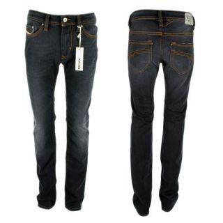 Herren Diesel Jeans Thanaz Wash Y88 0RY88 Stretch Slim Skinny schwarz