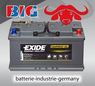 Batterie EXIDE C20 12V 80 AH C100 95 AH C5 70 AH Boot Wohnmobil Reha