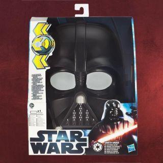 Star Wars Darth Vader sprechender elektronischer Helm Klettverschluss